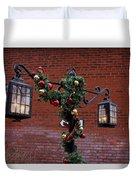 Christmas Lamps Duvet Cover