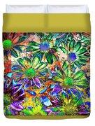 Chrysanthemums Duvet Cover