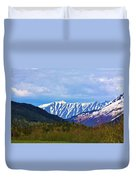 Chugach National Forest  Duvet Cover
