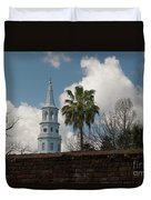 Church Bells Ringing Duvet Cover