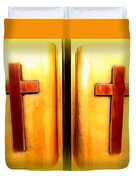 Church Doors Duvet Cover