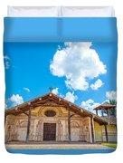 Church In San Javier, Bolivia Duvet Cover