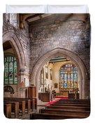 Church Light Duvet Cover