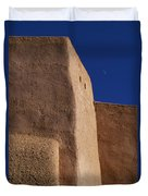 Church Taos Nm Duvet Cover