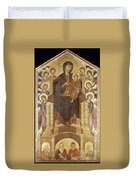 Cimabue: Madonna Duvet Cover