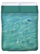 Circles On The Water Duvet Cover