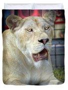 Circus Lion Duvet Cover