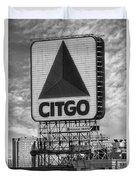 Citgo Sign Kenmore Square Boston Duvet Cover