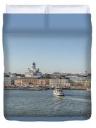 City By The Sea Duvet Cover
