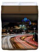 City Lights #6 Duvet Cover