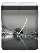 City Of Arts And Sciences Duvet Cover