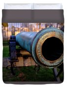 Civil War Cannon 1862 In Gettysburg Pa Duvet Cover