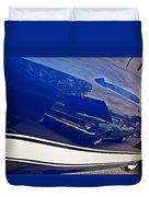 Classic Car Reflection Duvet Cover