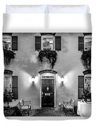 Classic Historic Banquet And Event Home And Backyard Duvet Cover
