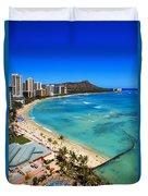Classic Waikiki Duvet Cover