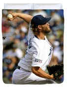Clayton Kershaw, Los Angeles Dodgers Duvet Cover