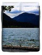 Clear Lake Washington Duvet Cover