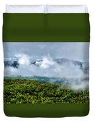 Clearing Storm West Virginia Highlands Duvet Cover