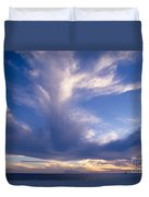 Cloud Formations Duvet Cover by Mary Van de Ven - Printscapes