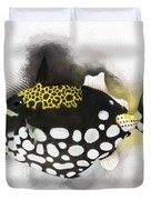 Clown Triggerfish No 01 Duvet Cover