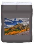 Color In The Clouds Duvet Cover