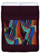 Color Me Abstract Duvet Cover