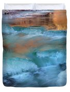 Color Of Winter Duvet Cover