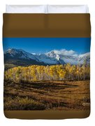 Colorado Fall II Duvet Cover