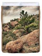 Colorado Rocky Mountains Duvet Cover