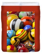 Colorful Marbles Duvet Cover