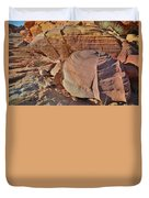 Colorful Valley Of Fire State Park Duvet Cover