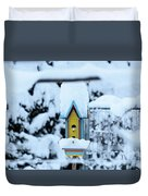 Colors In The Snow Duvet Cover