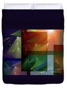 Coloured Lights II Duvet Cover