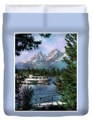 Colter Bay In The Tetons Duvet Cover