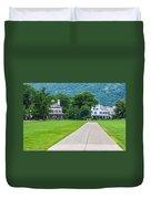 Commandants House At West Point Duvet Cover