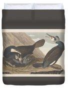 Common Cormorant Duvet Cover