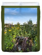 Community Garden Duvet Cover