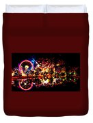 Coney Island Of The Mind Duvet Cover