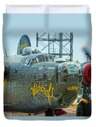 Consolidated B-24j Liberator Duvet Cover