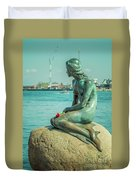 Copenhagen Little Mermaid Duvet Cover