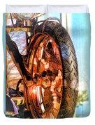Copper Bike Liberty Ambassador Ny Duvet Cover