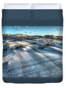Coquina Beach, Cape Hatteras, North Carolina Duvet Cover