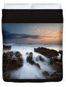 Coral Cove Dawn Duvet Cover