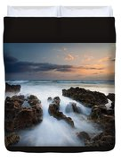 Coral Cove Dawn Duvet Cover