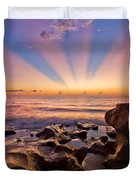 Coral Cove Duvet Cover