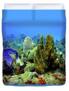 Coral Head Duvet Cover