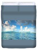 Coron Panorama Duvet Cover