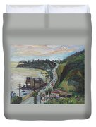 Corral Canyon View Duvet Cover