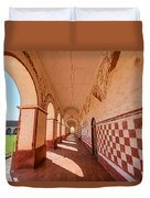Corridor And Arches Duvet Cover