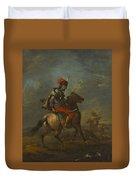 Cossack On Horseback Duvet Cover
